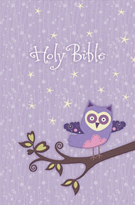Holy Bible (NKJV, Purple Owl)