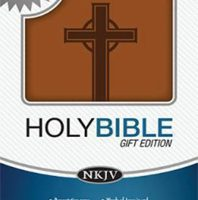Holy Bible Gift Edition (0413TW- Toffee Leathersoft, NKJV/Referene)