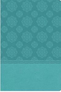 NKJV Center-Column Reference Bible (3003T, Turquoise Leathersoft)