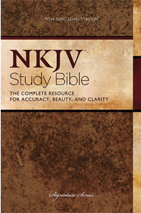 NKJV Study Bible: The Complete Resource for Accuracy, Beauty, and Clarity (Signature Series, 2882TN, Study)