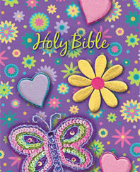 Holy Bible (NKJV, Shiny Sequin-Purple) Boxed
