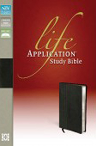 LIFE APPLICATION NIV BIBLE (LEATHER) BOXED