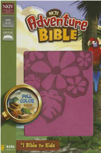 NKJV Adventure Bible (Raspberry, Italian Duo-Tone)