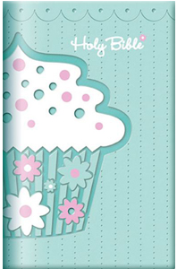 Cupcake Holy Bible (ICB, Lt. Green Leathersoft)