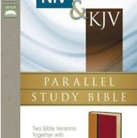 NEW Niv & Kjv Parallel Study Bible