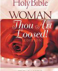 T D JAKES WOMAN THOU ART LOOSED