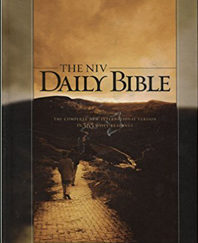 The NIV Daily Bible Hardcover – 2006