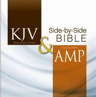 KJV & Amp Side-by-Side Bible