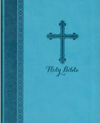 Holy Bible (NIV, Gift Edition, Turquoise Italian Duo-Tone)