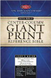 Holy Bible: Giant Print Reference Bible (0991BGW Burgundy Leatherflex, NKJV/White Pages/Reference)