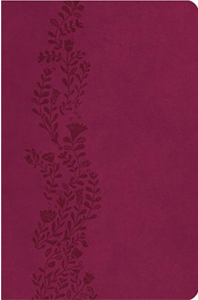 UltraSlim Bible (KJV/Text, 2013CR Cranberry Leathersoft, Gold Gilded Pages)