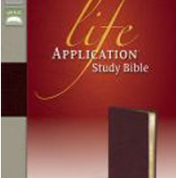 Life Application Study Bible (NIV, Burgundy Bonded Leather)