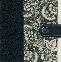 Ultra Slim Holy Bible: Designer Series (NKJV/Text, 3018-Black & White Leathersoft Fabric)Boxed